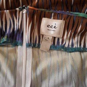 ECI Dresses - eci Colorful Maxi Dress Worn Once Size L
